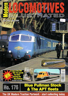 Modern Locomotives Illustrated No 176 Blue Pullman Stock & The APT fleets