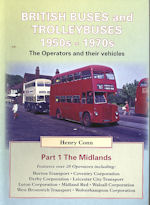 British Buses, Trams and Trolleybuses 1950 - 1970