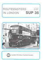 Routemasters in London