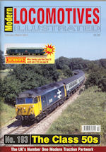 Modern Locomotives Illustrated No 193 The Class 50s