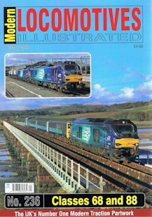 Modern Locomotives Illustrated No. 236 Classes 68 and 88