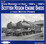 Scottish Region Engine Sheds and their Motive Power