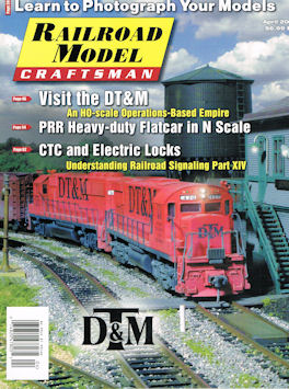 Railroad Model Craftsman April 2017