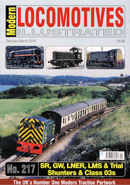 Modern Locomotives Illustrated No 220