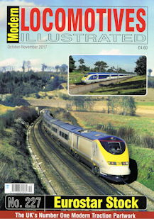 Modern Locomotives Illustrated No. 227 - Eurostar Stock