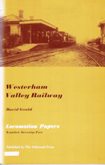 The Westerham Valley Railway