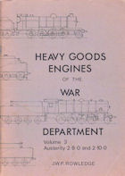 Heavy Goods Engines of the War Department
