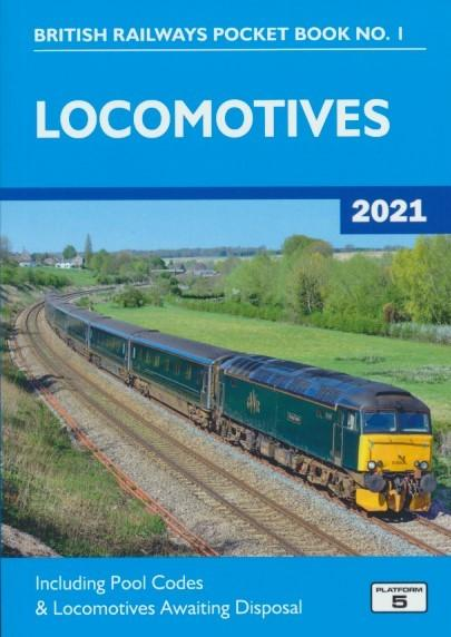 British Railways Pocket Book No. 1 - Locomotives (2021 edition)