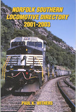 Norfolk Southern Locomotive Directory 2001 - 2003