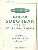 BR Southern Region Suburban Passenger Services