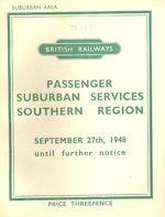 BR Southern Region Suburban Services