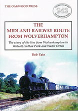 The Midland Railway Route From Wolverhampton