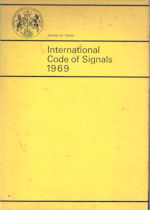Board of Trade International Code of Signals 1969