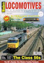 Modern Locomotives Illustrated No 187 The Class 56s