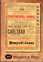Bradshaw's Continental Guide 1913