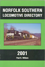 Norfolk Southern Locomotive Directory 2001