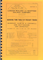 LMS WTT Freight Trains October 1946 to May 1947