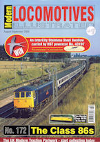 Modern Locomotives Illustrated No 172 The Class 86s