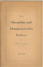 The Shropshire and Montgomeryshire Railway