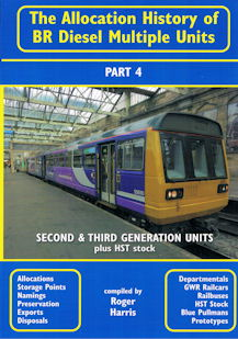 The Allocation History of BR Diesel Multiple Units Part 4