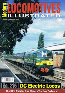 Modern Locomotives Illustrated No 215 DC Electric Locos