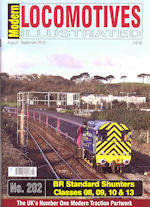 Modern Locomotives Illustrated No 202 BR Standard Shunters Classes O8, 09, 10 & 13