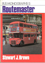 Bus Monograph : 3 - Routemaster