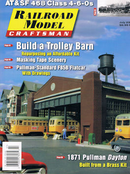 Railroad Model Craftsman July 2017