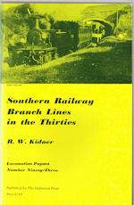 Southern Railway Branch Lines in the Thirties