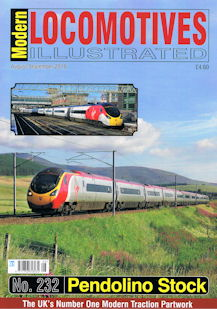 Modern Locomotives Illustrated No 232 - Pendolino Stock