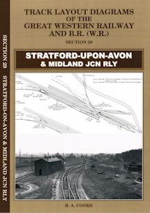 Track Layout Diagrams of the Great Western Railway and B.R. (W.R.) - Section 29 Stratford upon Avon & Midland Jcn Rly