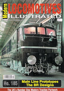 Modern Locomotives Illustrated No 185 Main Line Prototypes - The BR Designs