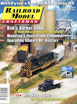 Railroad Model Craftsman March 2017