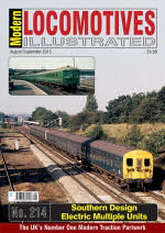Modern Locomotives Illustrated No. 214 Southern Design Electric Multiple Units