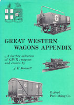 Great Western Wagons Appendix