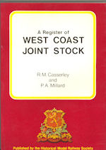 A Register of West Coast Joint Stock