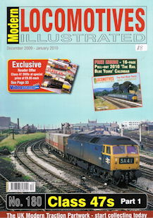 Modern Locomotives Illustrated No. 180 Class 47s Part 1
