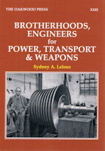 Brotherhoods. Engineers for Power Transport & Weapons