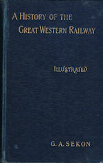 A History of the Great Western Railway(SOLD)