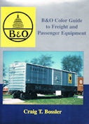B&O Color Guide to Freight and Passenger Equipment