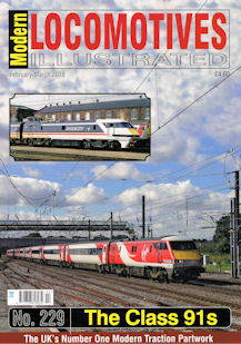 Modern Locomotives Illustrated No. 229 The Class 91s