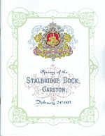Opening of the Stalbridge Dock Garston