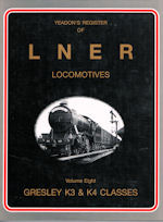 Yeadon's Register of LNER Locomotives