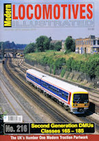 Modern Locomotives Illustrated No. 216 Second Generation DMUs Classes 165 - 185