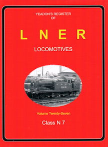 Yeadon's Register of LNER Locomotives part 27