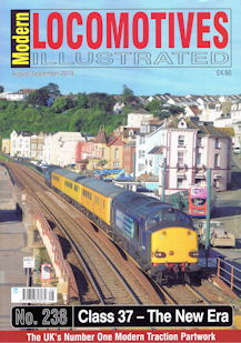 Modern Locomotives Illustrated No 238 - Class 37 The New Era
