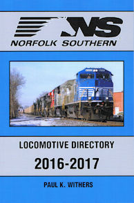 Norfolk and Southern Locomotive Directory 2016-2017