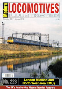 Modern Locomotives Illustrated No. 228 London Midland and North West area EMUs