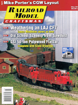 Railroad Model Craftsman May 2017