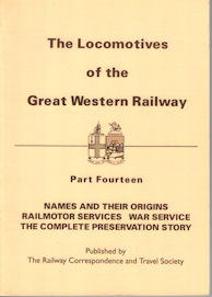 The Locomotives of the Great Western Railway Part Fourteen